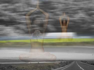"Saatchi Art Artist André Pillay; New Media, ""On a Path"" #art  #SaatchiArt  #path  #photography  #surrealism  #destiny"