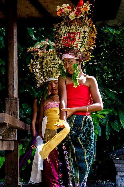 Balinese dance rejang dewa