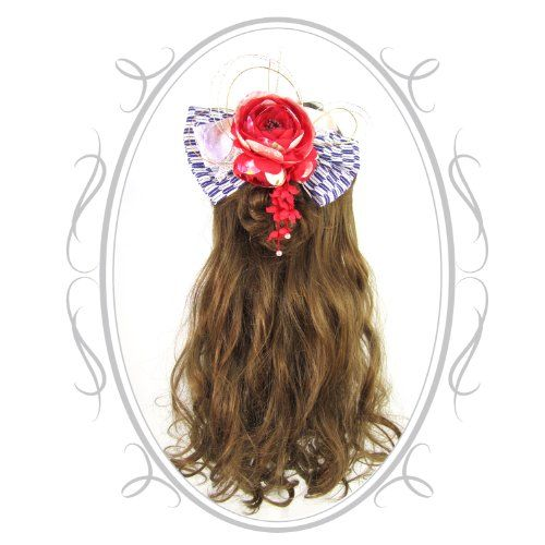 Maiko Geisha Kanzashi - Designed for Every-day Kawaii Hair! Harajuku Fashion Hair Clip Mejiro Co.,,http://www.amazon.com/dp/B00KDXBRQK/ref=cm_sw_r_pi_dp_-bfFtb1GFXT92F8S