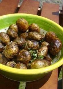 Pommes de terre grenailles au thym