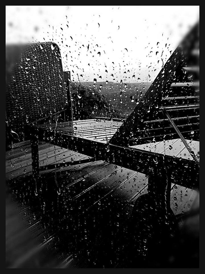 sometimes it's raining.