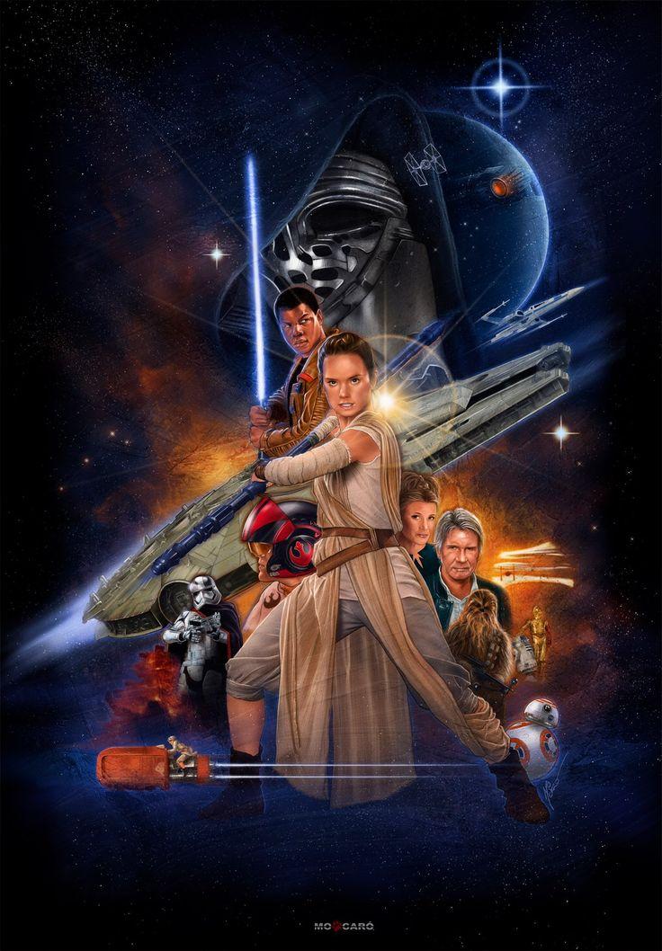 Star Wars: The Force Awakens byThe Art of MO CARO