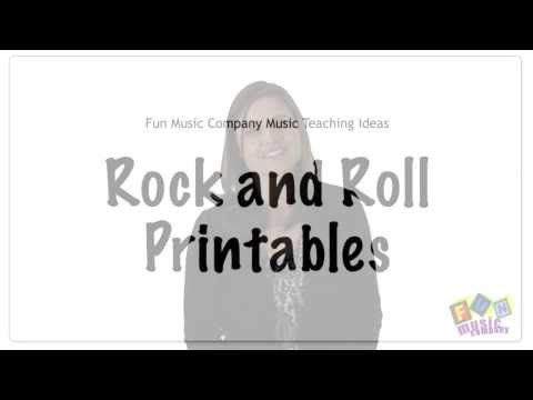 History of Rock and Roll Printable Teaching Resources