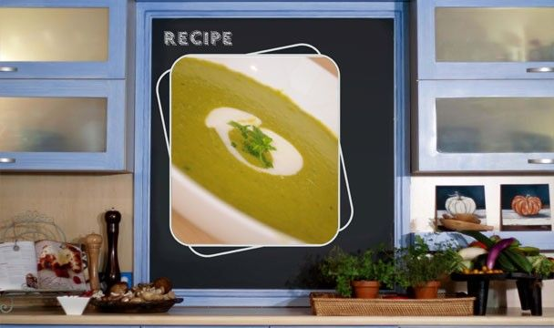 Creamy Pea and Asparagus Soup