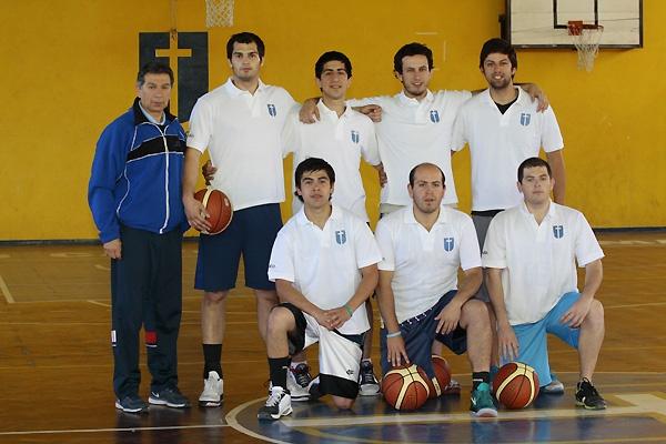 Selección de Básquetbol  2012 de la Universidad Católica del Maule.