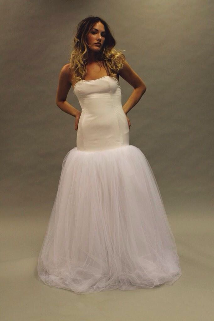 Simple style - what would you do with your blank canvas? #weddingdress