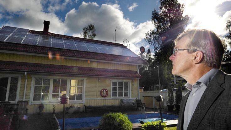 Aurinkosähkö vaatii vielä kuluttajalta melkoisen investoinnin, mutta taloudellisuus, ekologisuus ja helppous tekevät siitä kannattavaa.