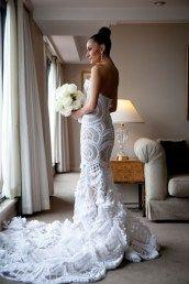 Jatone Couture свадебные платья из крупного кружева