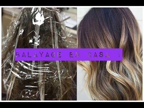 LaVidaEnRosa - Tutorial Balayage en casa!!! - YouTube