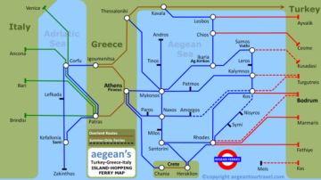 Turkey-Greece-Greek Islands Ferries Index