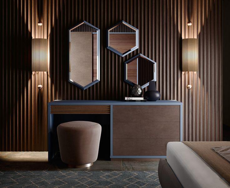 PANDORA Upholstered pouf by Caroti design Ni.Ko Design