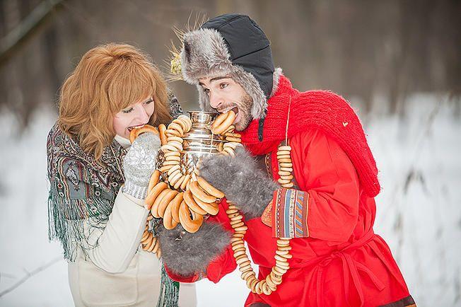 Свадебный и семейный фотограф недорого в Москве и МО   Свадьба в русском стиле