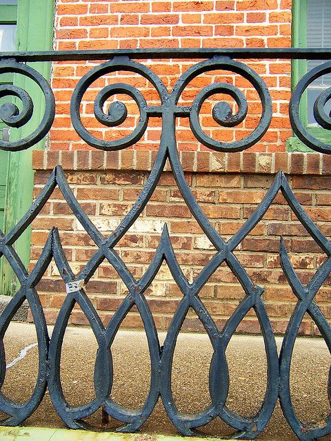 Wrought Iron Fence | Flickr - Photo Sharing!