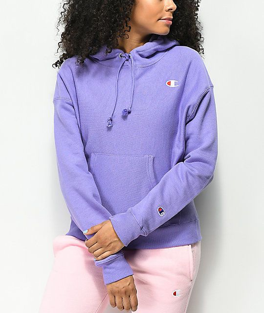 9bb39f0f44bb New Pacsun Womens Lavender Purple Champion Pullover Hoodie Sweatshirt Size  XS  Champion  Hoodie