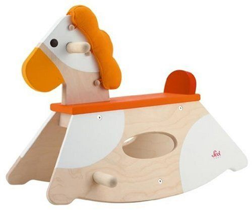 Wooden Rocking Horse For Baby - TotRides.com | TotRides.com