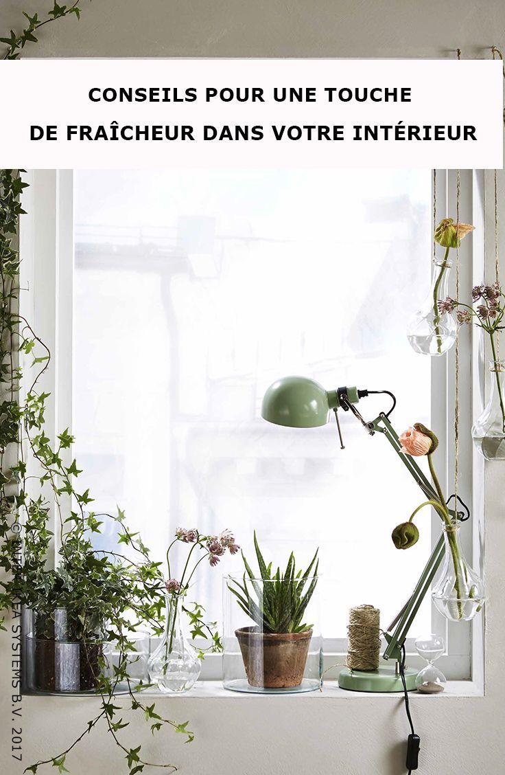 faites entrer l 39 t dans votre int rieur optez pour un m lange original de fleurs et de plantes. Black Bedroom Furniture Sets. Home Design Ideas