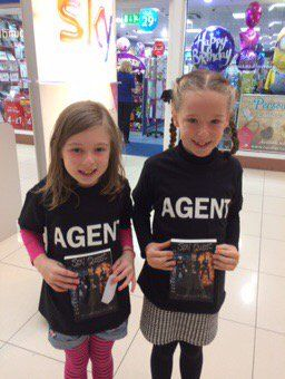 """""""2 special agents happy after book signing @SpyQuest @goutcherd"""""""