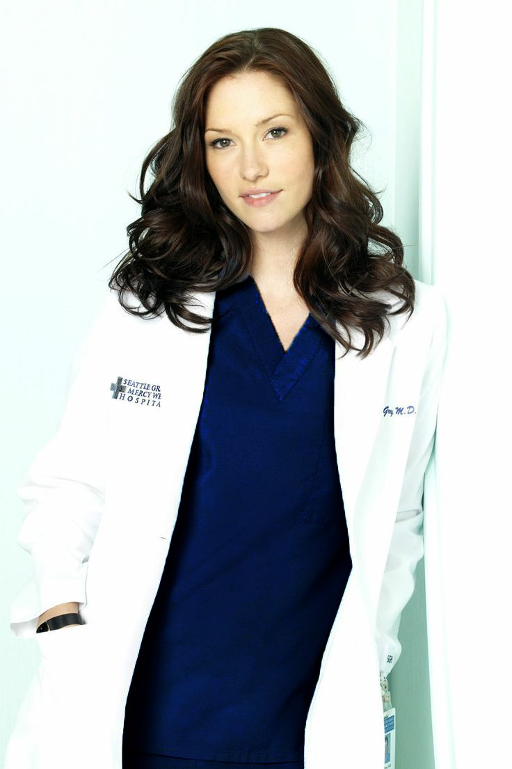 Lexie Grey in Attending Scrubs - Greys Anatomy