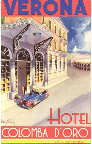 ITALY - Verona - Hotel Colomba d'Oro Verona View One