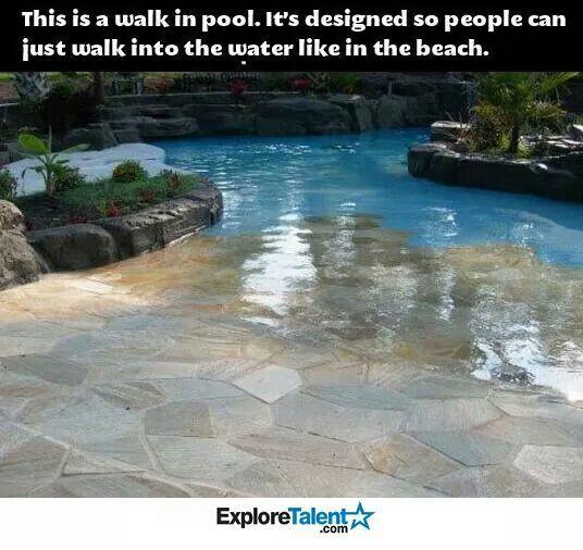 Best 25+ Walk in pool ideas on Pinterest | Beach entrance pool ...