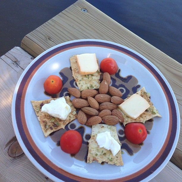 """Cheese platter at the cottage #simplepleasures #CDNcheese - Momwhoruns"