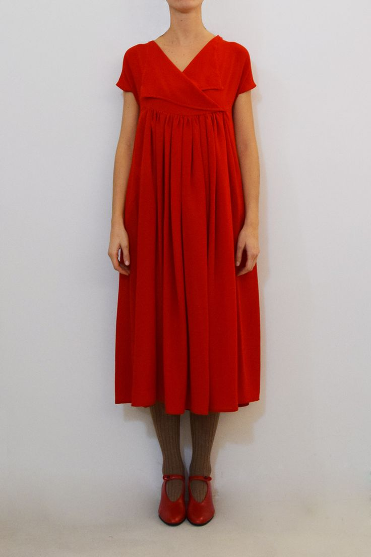 Daniela Gregis rouge dress