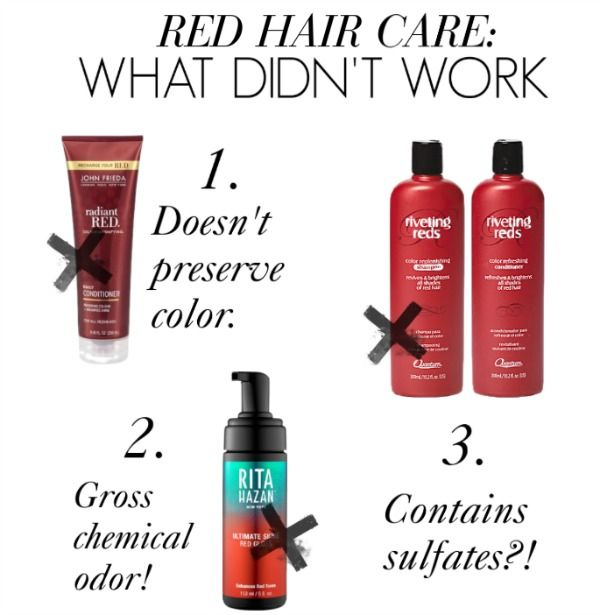 2017 S Best Color Depositing Shampoos For Redheads Red Hair And Coloring