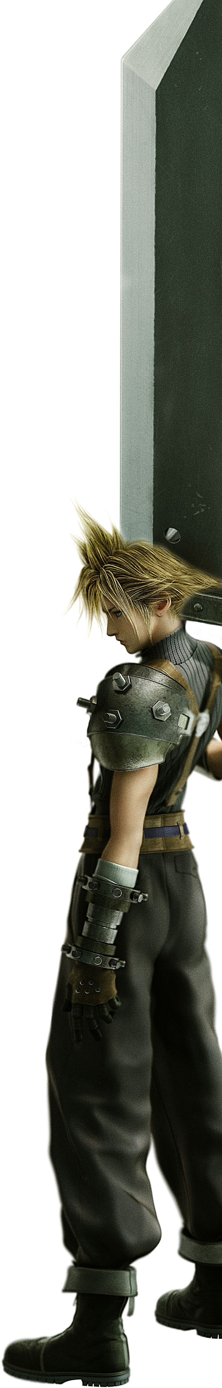 Cloud Strife from FF VII see the full walkthrough on:  http://watchandstudy.com/