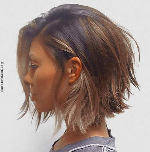 short hair cuts with bangs and layers medium short hair cuts with bangs and…