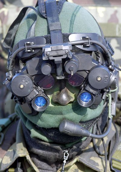 Night vision gear is getting a wee bit freaky.