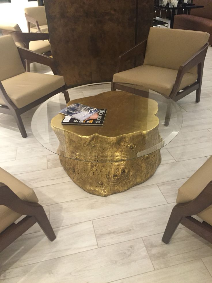 Gold Tree Stump Coffee Table Furniture Pinterest Tree Stumps Trees And Coffee