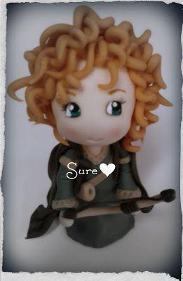 Brave, la princesa valiente. Porcelana Fría