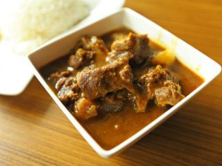 Recipe Mangoleran Speciality Pothrade in Mutton Curry