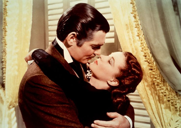 Gone With the WindThe Kisses, Classic Movie, Romantic Movie, Rhett Butler, Vivien Leigh, Clark Gables, Movie Quotes, Old Movie, The Civil Wars