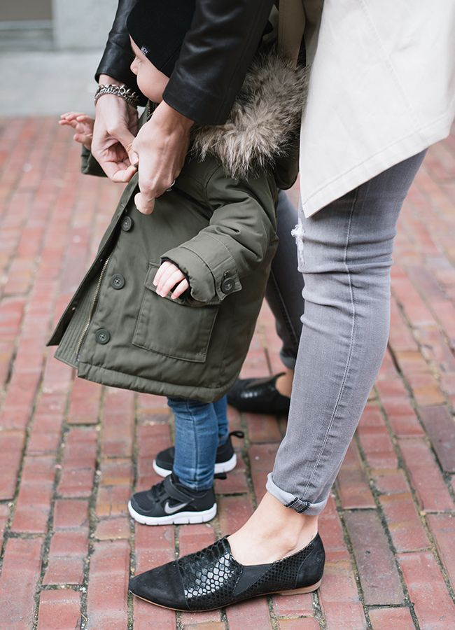 In Her Shoes with Jennifer Wilson from VonBon #babystyle #streetstyle
