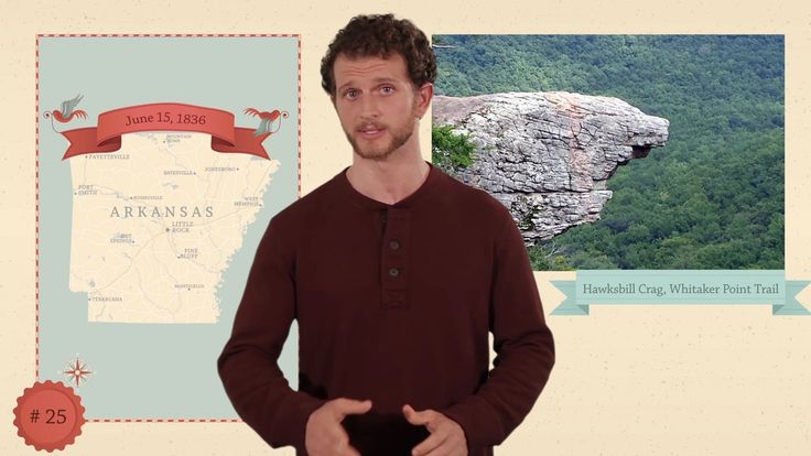 This YouTube channel has a 2  min video for each state with capital, state flower, state tree, state bird, state motto, and major attractions.