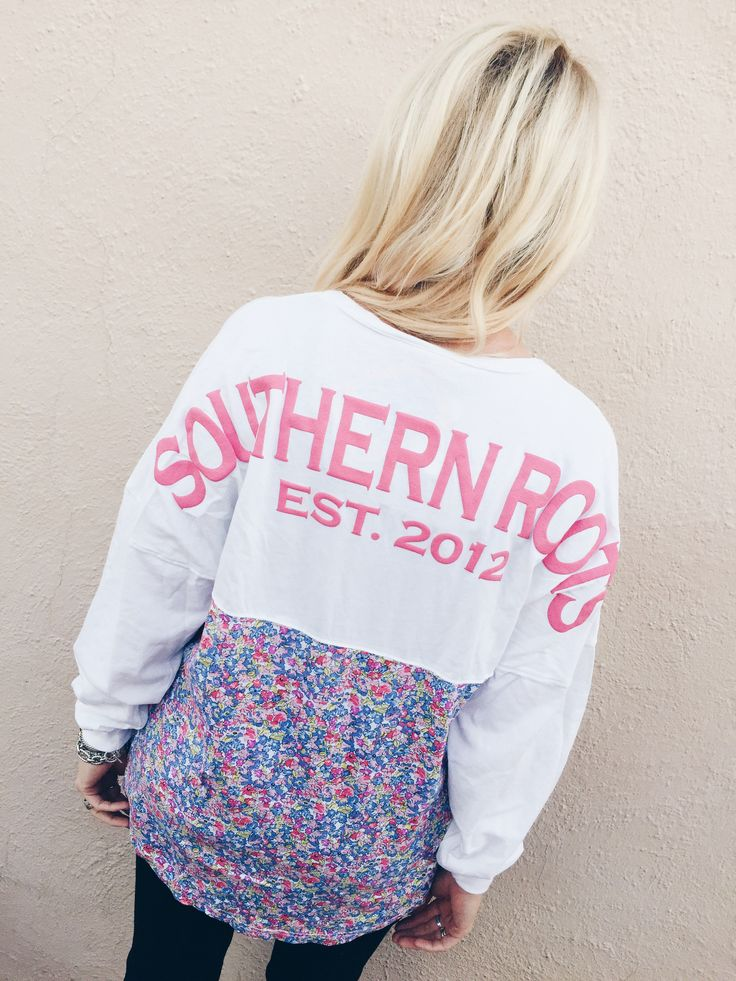 Southern Roots Spirit Jersey- Floral from Shop Southern Roots TX