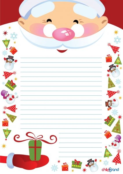 Письмо Деду Морозу (красочные шаблоны конвертов и бланков)