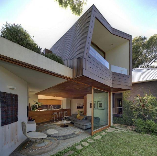 Casa Balmain pentru familii tinere creatie a arhitectilor Fox Johnston - Inspiratie in amenajarea casei - www.povesteacasei.ro  http://bit.ly/1mX9cBr