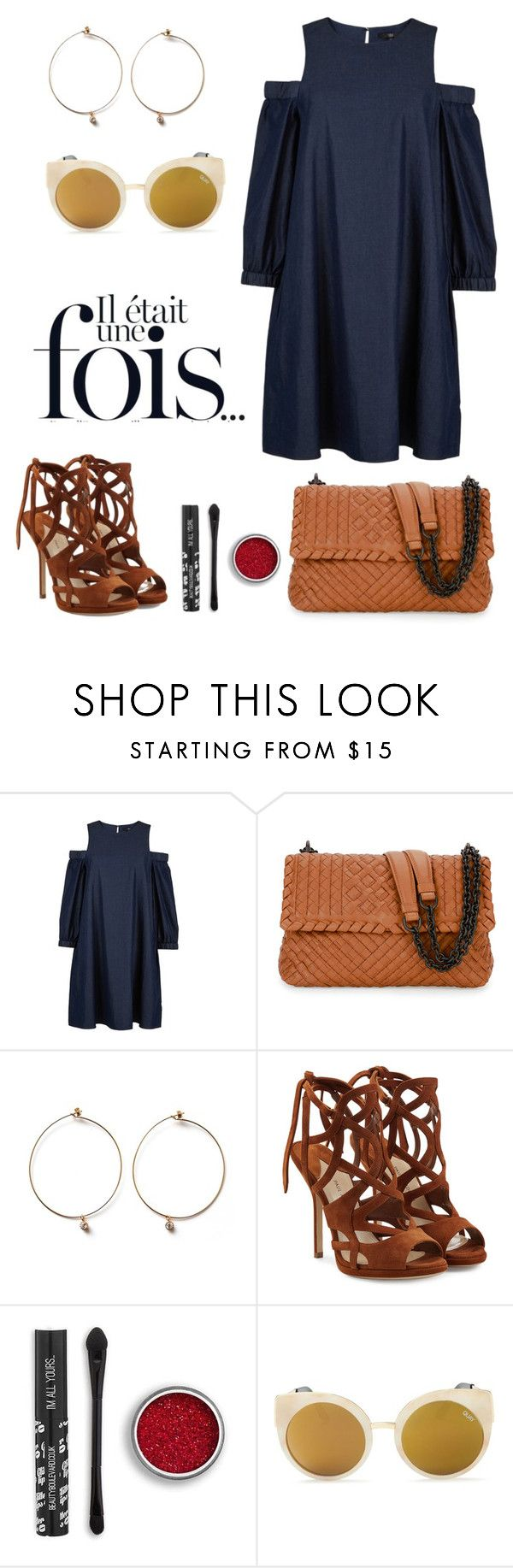"""Dress."" by schenonek ❤ liked on Polyvore featuring TIBI, Bottega Veneta, Paul Andrew and Quay"