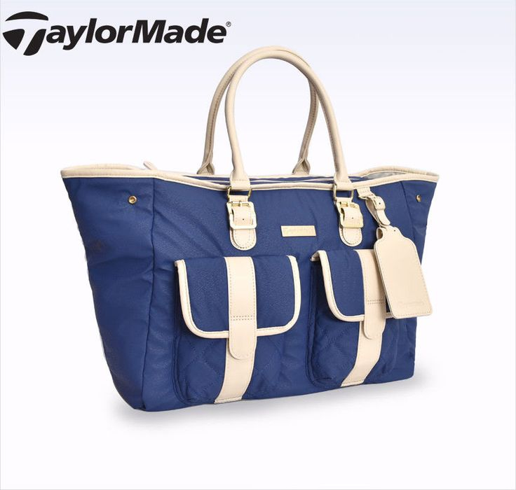 adidas TaylorMade Unisex WPU Boston Bag Sports Shoulder Bag Travel Navy AE2318 #adidas #BostonBag