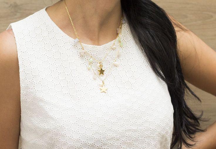 CADENITA ESTRELLAS - Comprar en accesorios Ave Maria