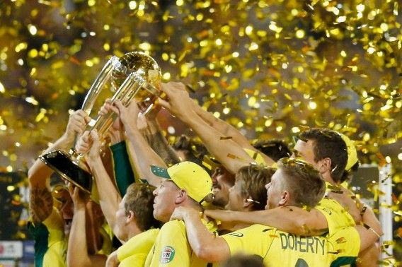 Australia Champions in Cricket world cup 2015