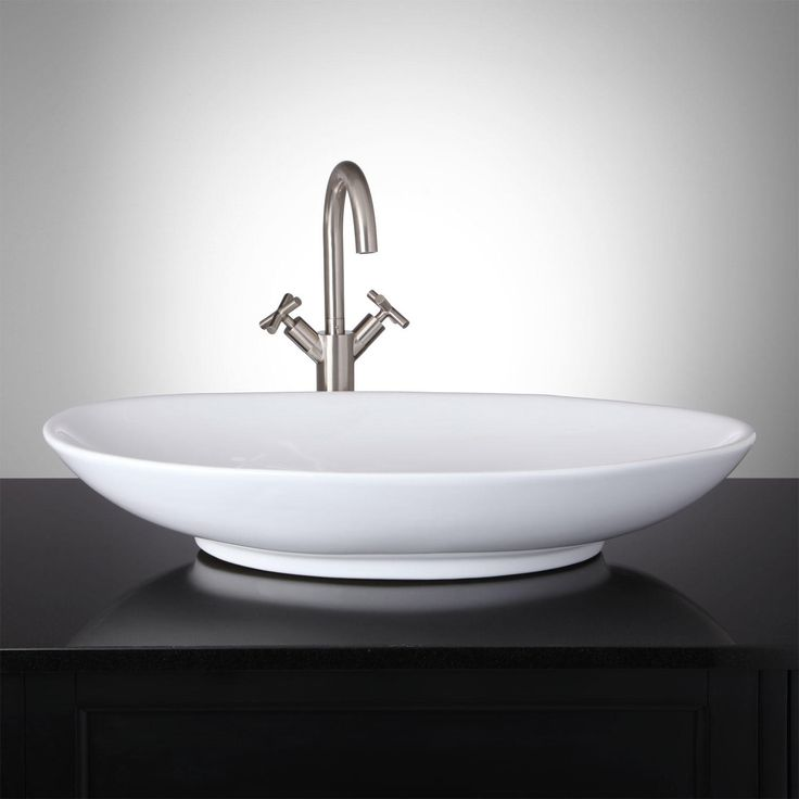 Caroli Oval Vessel Sink