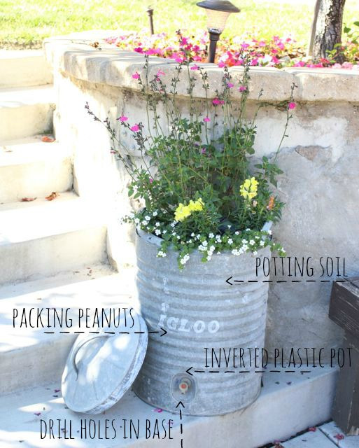recycled planter