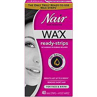 Nair Wax Ready-Strips For Face