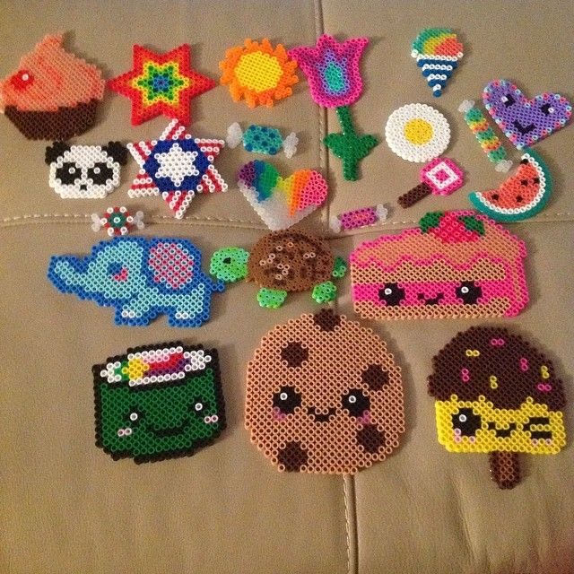 Perler bead creations by charlene_b10 - pinning for the dripping heart