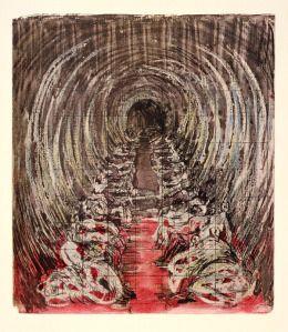 Henry Moore, Shelter Sketch Book (1967)