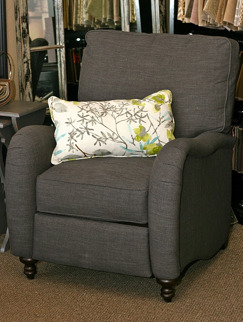stylish recliner for the hubbster