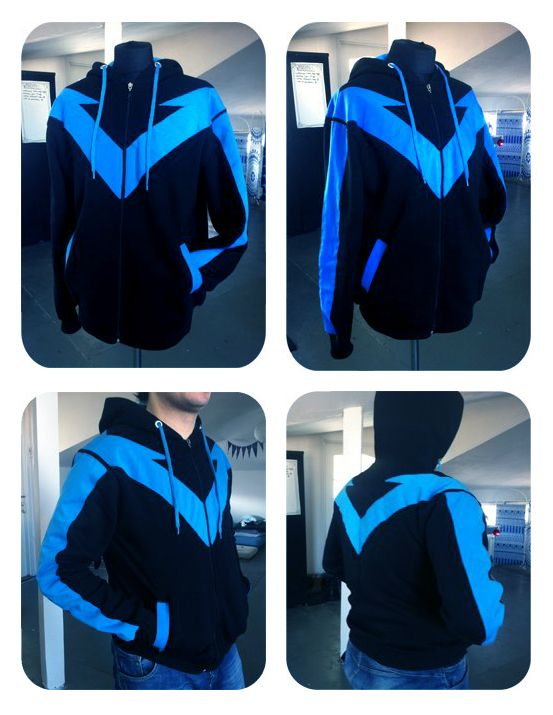 NIGHTWING hoodie by Kairisia.deviantart.com on @deviantART